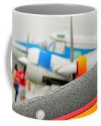 Abstract View Of Airshow During A Rain Storm Coffee Mug