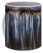 Abstract Waterfalls Childs National Park Painted  Coffee Mug