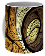 Abstract Wood Grain Coffee Mug