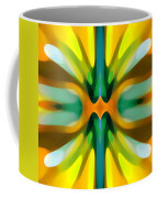 Abstract Yellowtree Symmetry Coffee Mug by Amy Vangsgard