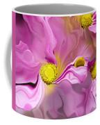 Abstracted Pink Coffee Mug
