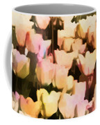 Abstracted Tulips Coffee Mug