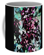 Abstraction Red And Green Coffee Mug