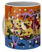 Abstracts 14 - The Circus Coffee Mug