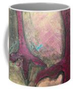 Abstracty Crows Feet Crop Coffee Mug