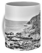 Acadia National Park In Bw Coffee Mug