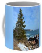 Acadian Shores In Winter Coffee Mug