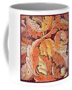 Acanthus Vine Design Coffee Mug