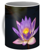 Accents On A Purple Waterlily... Coffee Mug