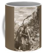 Achelous In The Shape Of A Bull Coffee Mug by Bernard Picart