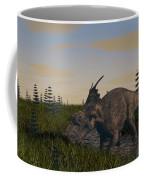 Achelousaurus Grazing In Swamp Coffee Mug