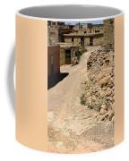 Acoma Pueblo Street Scene Coffee Mug