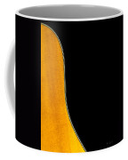 Acoustic Curve In Black Coffee Mug