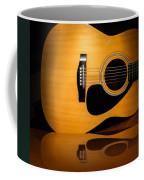 Acoustic Guitar Reflected Coffee Mug