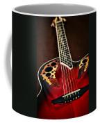 Acoustical Red Coffee Mug