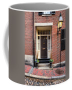 Acorn Street Door And Lamp Coffee Mug