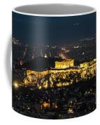 Acropolis At Night Coffee Mug