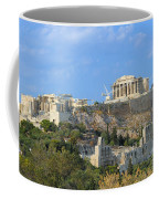 Acropolis Of Athens Coffee Mug