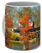 Across The Bridge Coffee Mug