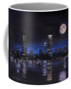 Across The Charles At Night Coffee Mug by Jack Skinner