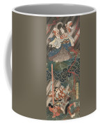 Actors Ichikawa Danjuro Vii As Kan Shojo Coffee Mug