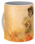 Actress In The Pink Vintage Collage Coffee Mug