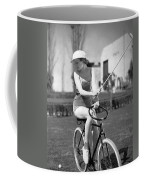 Actress Plays Bike Polo Coffee Mug