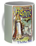 Ad Bicycles, 1898 Coffee Mug