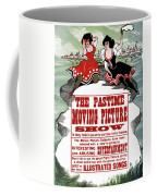 Ad Moving Picture, 1913 Coffee Mug