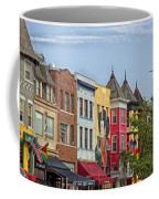 Adams Morgan Neighborhood In Washington D.c. Coffee Mug
