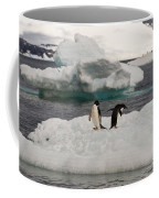 Adelie Penguins On Ice Coffee Mug