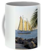 Sailing On The Adirondack In Key West Coffee Mug
