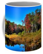Adirondack Stream In Autumn Coffee Mug