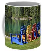 Adirondacks At Jasper Lodge Coffee Mug