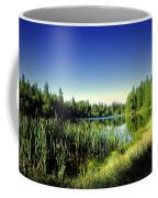 Admiring The Beauty At Woodbridge Lake Coffee Mug