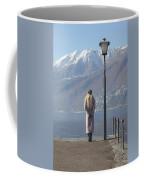 Admiring The Mountains Coffee Mug