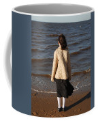 Admiring The Ocean Coffee Mug