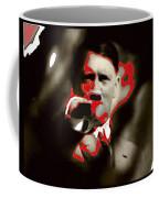 Adolf Hitler Saluting Screen Capture From Newsreel No Date-2008 Coffee Mug