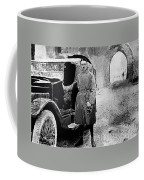 Adolf Hitler Shortly After His Release From Prison With A Mercedes 1924 - 2012 Coffee Mug