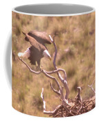 Adult Eagle With Eaglet  Coffee Mug