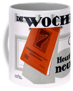 Advert For Die Woche Coffee Mug
