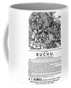 Advertisement: Buchu, 1871 Coffee Mug