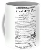 Advertisement: Coca Wine Coffee Mug