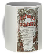 Advertisement For Cadburs Cocoa Essence From The Graphic Coffee Mug
