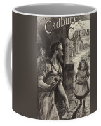 Advertisement For Cadburys Drinking Cocoa Coffee Mug by English School
