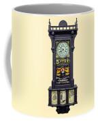 Advertising Clock Coffee Mug