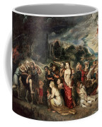 Aeneas And His Family Departing From Troy Coffee Mug