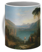 Aeneas And The Cumaean Sybil Coffee Mug