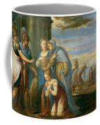 Aeneas Taking Leave Of Dido Coffee Mug