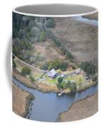 Aerial Jekyll Island Area Coffee Mug